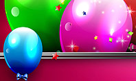 Colorful Balloons Festive Presentation Template