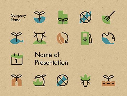 Sustainable Food Production Presentation Template, Master Slide