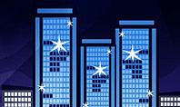 Night City Light Presentation Template