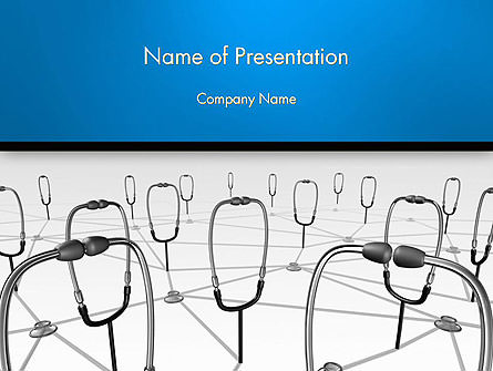 Doctor Network Presentation Template, Master Slide