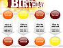 3D Happy Birthday Text slide 18