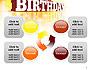 3D Happy Birthday Text slide 9