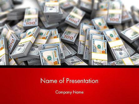 Money Heap Presentation Template, Master Slide