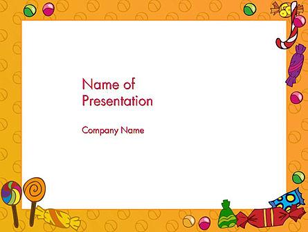 Candy Frame Presentation Template, Master Slide