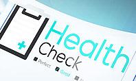 Health Check Diagnosis Concept Presentation Template