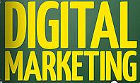 Digital Marketing Word Cloud Presentation Template