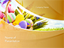Basket with Easter Eggs slide 1