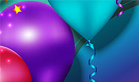 Colorful Balloon Party Presentation Template