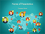 Social Connections on Word Map slide 1