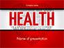 Health Word Cloud slide 1