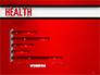 Health Word Cloud slide 11