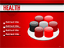 Health Word Cloud slide 12