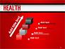 Health Word Cloud slide 14