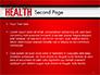 Health Word Cloud slide 2