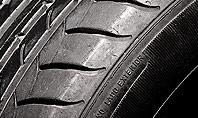 Tire Closeup Presentation Template