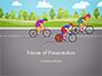 Bicycle Race Illustration slide 1