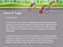 Bicycle Race Illustration slide 2