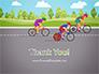 Bicycle Race Illustration slide 20