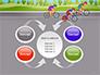 Bicycle Race Illustration slide 6