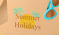 Summer Holidays Concept Presentation Template