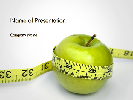 The Best Way To Lose Weight Presentation Template, Master Slide