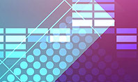 Dots and Equalizer Theme Presentation Template