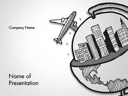 Tourism Concept Presentation Template, Master Slide