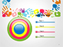 Frame Made of Colorful Handprints slide 9