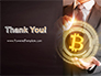 Businessman Control with Bitcoin Technology slide 20