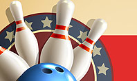 Bowling Illustration Presentation Template