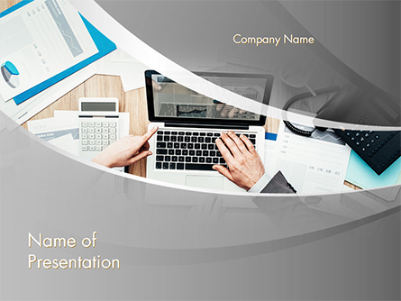 Project Review Presentation Template, Master Slide