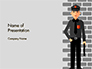 Security Guard Illustration slide 1
