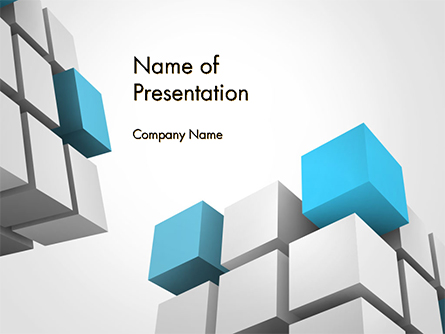 Cubic Theme Presentation Template, Master Slide