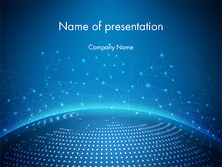 Cyberworld Presentation Template, Master Slide