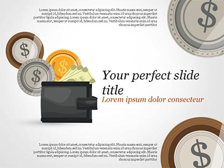 Cash Presentation Template, Master Slide