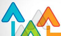 Upward Arrows Theme Presentation Template