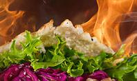 Kebab Sandwich Presentation Template
