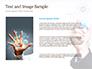 Businessman Drawing on Virtual Screen slide 15