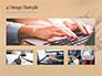 Female Hands Typing on Keyboard slide 13