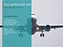 Airplane Travel Concept slide 9