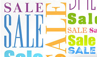 Sale Word Cloud Presentation Template
