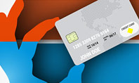 Credit Card Infographic Presentation Template