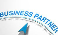 Finding Business Partner Concept Presentation Template