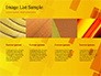 Red an Yellow Overlapping Squares slide 16