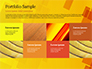 Red an Yellow Overlapping Squares slide 17