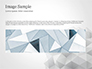 Light Gray Triangular Polygons slide 10