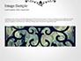 Black Floral Thin Frame slide 10