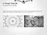 Black Floral Thin Frame slide 11