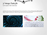 Black Floral Thin Frame slide 12