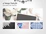 Black Floral Thin Frame slide 13